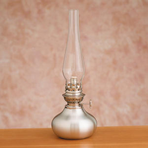 Shallot Pewter Oil Lamp - Indoor Decor