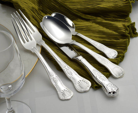Silver Sheffield Complete Flatware Set