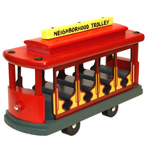 Classic Trolley - Wooden Toys