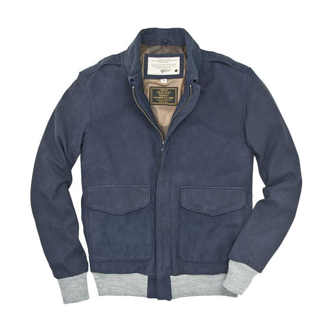 Air Race Suede A-2 Flight Jacket