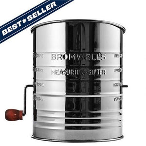 All-American Flour Sifter - Fortune And Glory - Made in USA Gifts