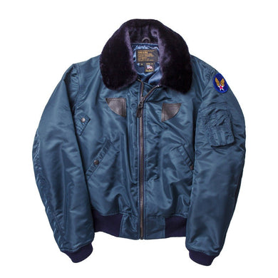 B-15 Nylon Bomber Jacket - Fortune And Glory - Made in USA Gifts