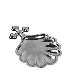 Baptismal Shell in Pewter - Fortune And Glory - Made in USA Gifts