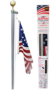 Classic Flagpole - Fortune And Glory - Made in USA Gifts