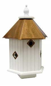 Magnolia Bird House Copper Roof - Birdhouses