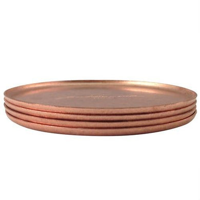Elegant Copper Coasters - Fortune And Glory - Made in USA Gifts