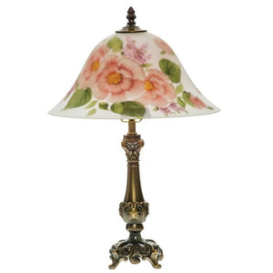 Pink Carnation Lamp - Fortune And Glory - Made in USA Gifts