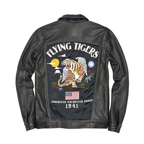 Flying Tigers Trucker Souvenir Jacket