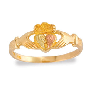 Black Hills Gold Claddagh Ring - Jewelry
