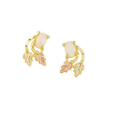 Lil Opals Black Hills Gold Earrings - Jewelry