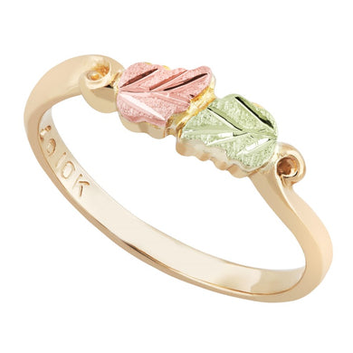 Black Hills Gold Petite Foliage Ring III