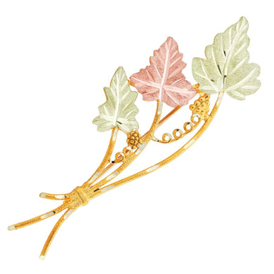 Black Hills Gold Finest Vines Brooch