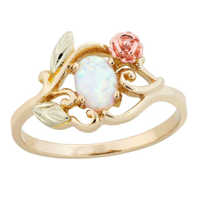 Black Hills Gold Opal Ring I