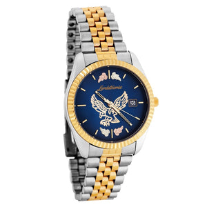 Black Hills Gold Blue Face Mens Eagle Watch