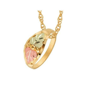 Black Hills Gold Ring Pendant & Necklace - Jewelry