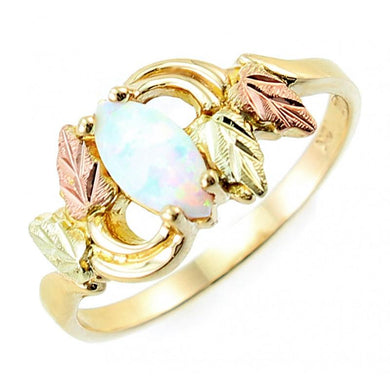 Black Hills Gold Opal Ring III - Fortune And Glory - Made in USA Gifts