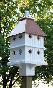 Manor House Copper Roof - Birdhouses