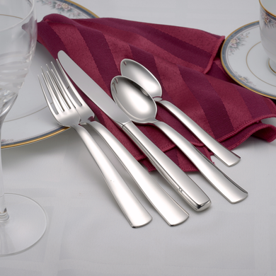 Modern America Flatware Set - Fortune And Glory - Made in USA Gifts