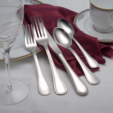 Pearl Complete Flatware Set - Fortune And Glory - Made in USA Gifts