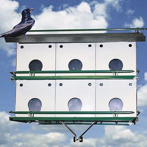 Purple Martin 12 Room M12K Pioneer Bird House - Fortune And Glory - Made in USA Gifts