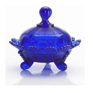 Glass Candy Dish - 5 Color Options - Cobalt - Baby Gifts