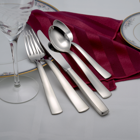 Satin America Flatware Set