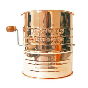 Deluxe Flour Sifter - Copper