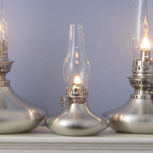 Skipper Pewter Oil Lamp