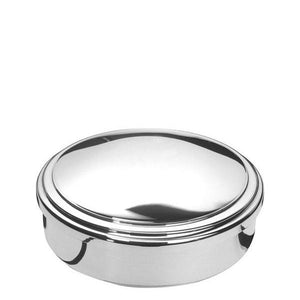 Lindsey Jewel Box 3 diameter in Sterling Silver - ENG