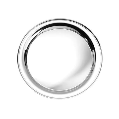 Round Tray 7 in Sterling Silver - X