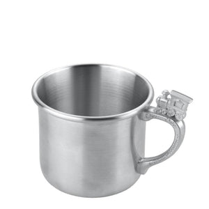 Train Baby Pewter Cup - Indoor Decor
