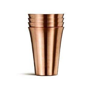 Fluted Shot Glasses - Fortune And Glory - Made in USA Gifts