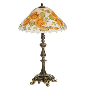 Roses Large Lamp - Fortune And Glory - Made in USA Gifts