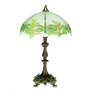 Green Dragonfly Lamp