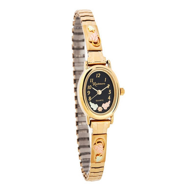 Black Hills Gold Ladies Oval Face Watch
