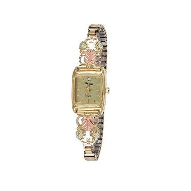Black Hills Gold Ladies Diamond Accent Watch
