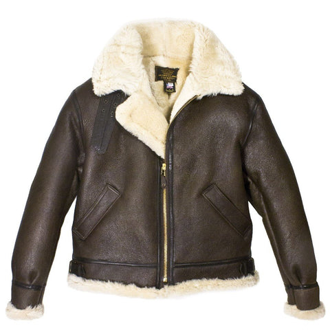 Genuine B-3 Bomber Leather Jacket