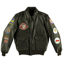 Tuskegee Airmen A-2 Leather Jacket