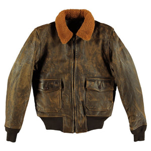 Avenger G-1 Leather Jacket - Fortune And Glory - Made in USA Gifts