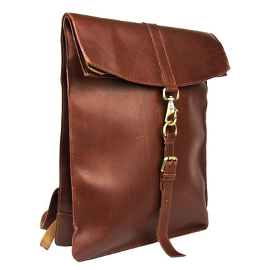 Brooklyn 1812 Leather Backpack - Fortune And Glory - Made in USA Gifts