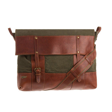 Cavalry Leather Messenger Bag