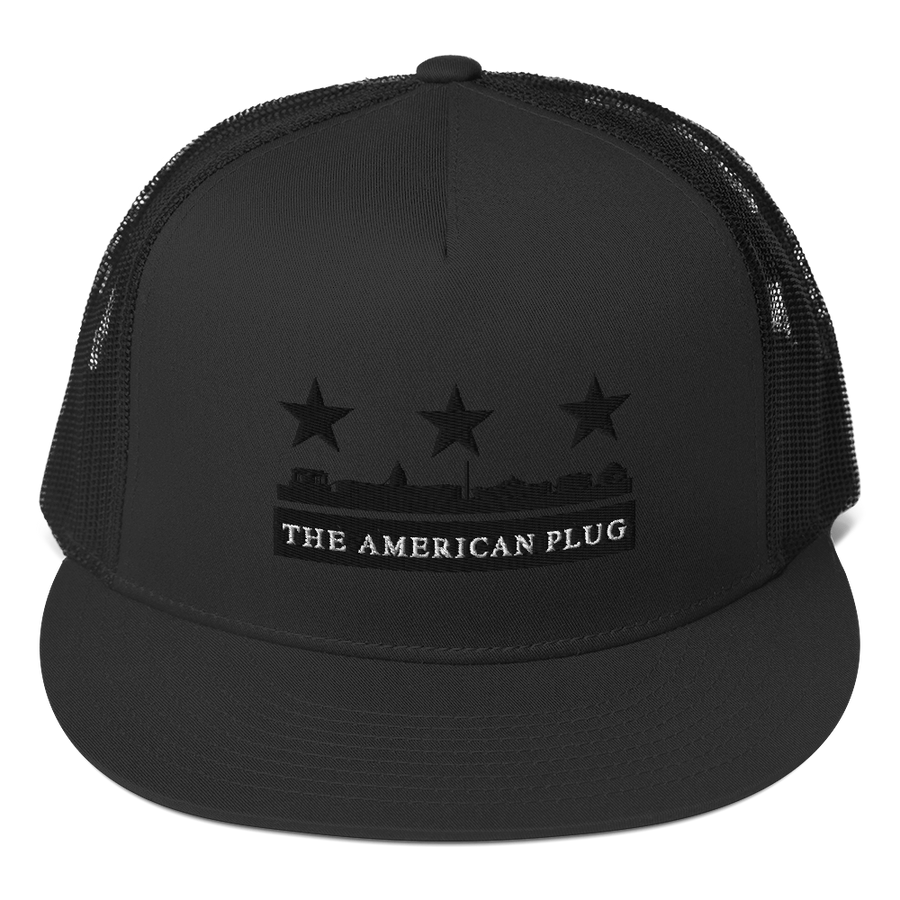 American Plug Trucker Cap - All Stuck