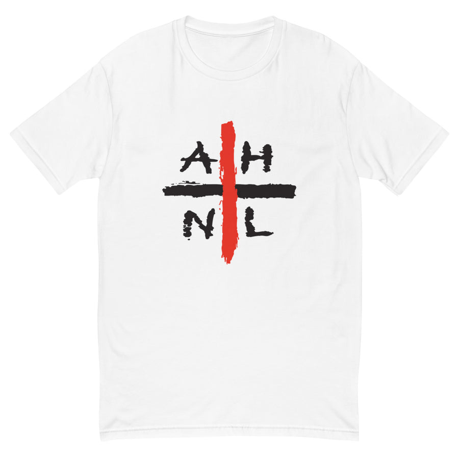 AHNL PLUS white Short Sleeve - All Stuck