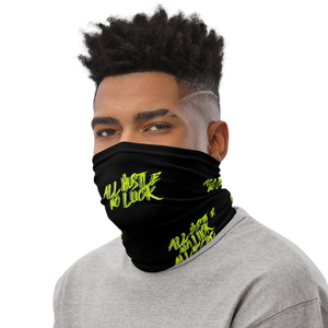 All Hustle No Luck Face Mask - All Stuck