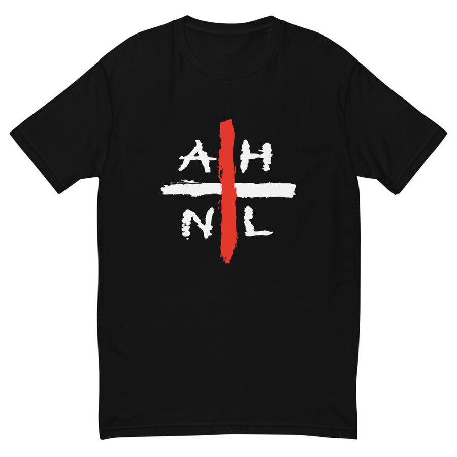 AHNL PLUS black Short Sleeve T - All Stuck
