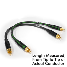 Load image into Gallery viewer, Pair of Taipan RCA Cables (6 in - 25 ft)