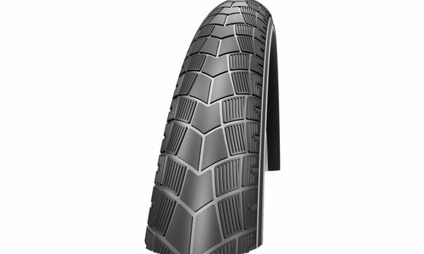 "Buitenband Schwalbe Big Apple K-Guard 26 x 2.15"" / 55-559mm - zwart met reflectie"