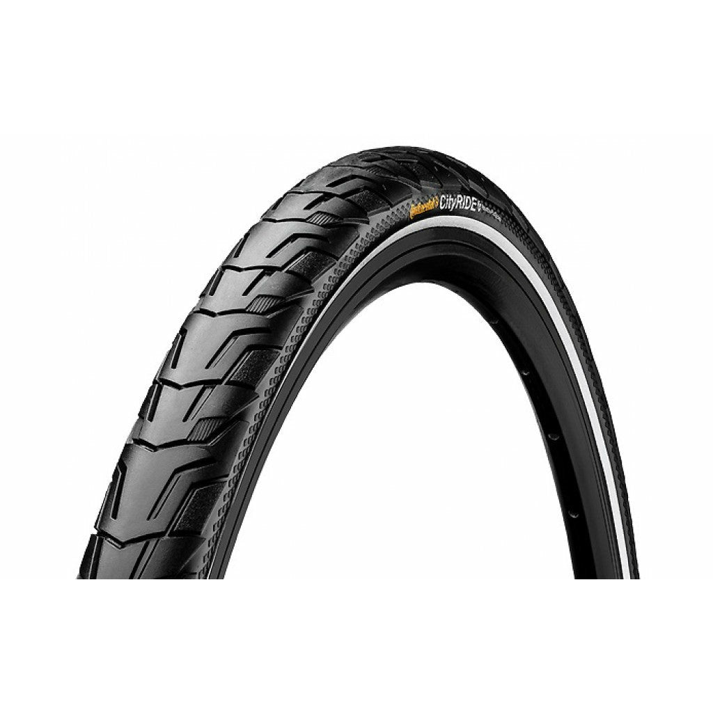 "Buitenband Continental Ride City Puncture ProTection 28 x 1,40"" / 37-622 - zwart met reflectie"