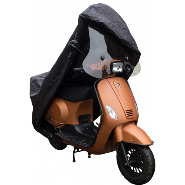 Scooterhoes DS COVERS Cup met Windscherm  Medium