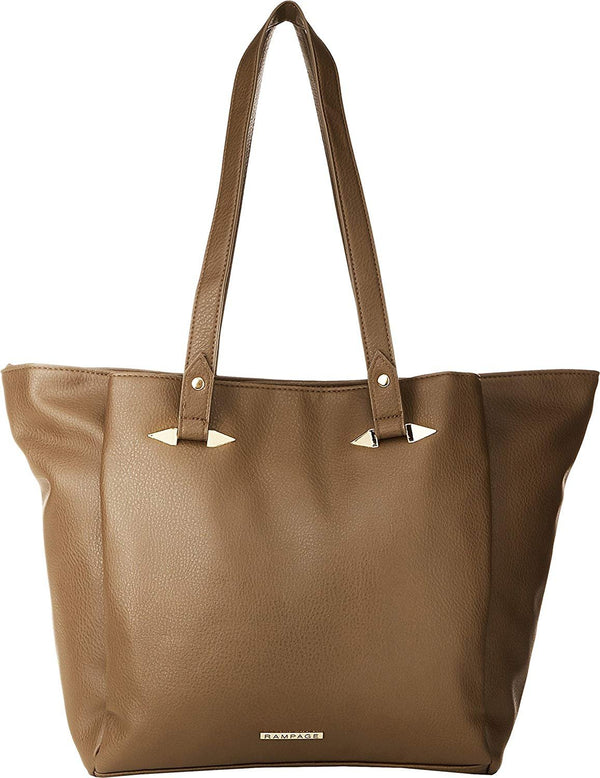 Rampage Womens Tote with Handle Hardware